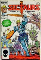 Comic Book - Marvel Comics - Sectaurs #1