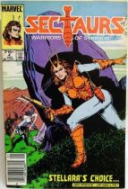 Comic Book - Marvel Comics - Sectaurs #4