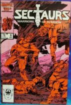 Comic Book - Marvel Comics - Sectaurs #6