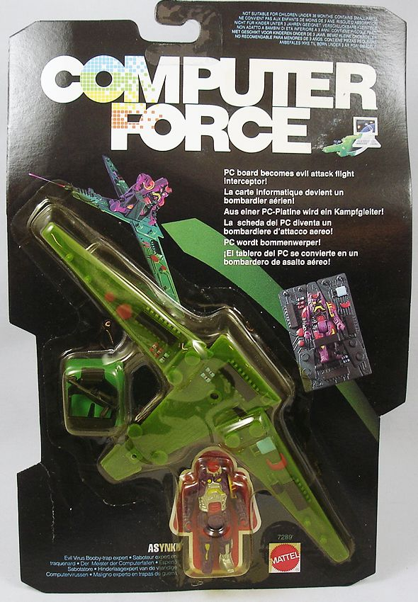 Computer Force - Mattel - Asynk