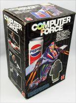 Computer Force - Mattel - Gridd & Boite de Pepsi