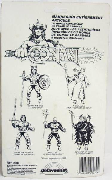 Conan (Remco-Delavennat) - Thoth Amon / Amon l\'Ennemi (neuf sous blister français)