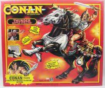Conan l\'Aventurier - Hasbro - Conan & Thunder Battle Stallion (neuf en boite)