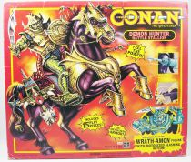 Conan l\'Aventurier - Hasbro - Iramon & Demon Hunter Battle Stallion (neuf en boite)