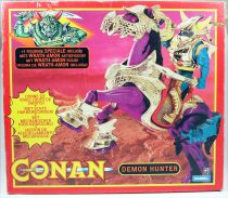 Conan l\'Aventurier - Hasbro - Iramon & Demon Hunter Battle Stallion (neuf en boite Europe)