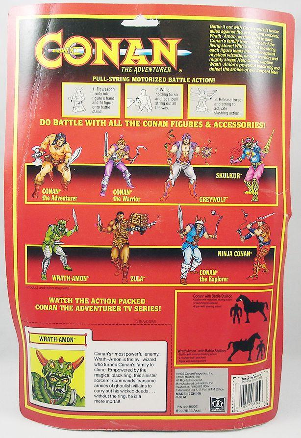 Conan l\'Aventurier - Hasbro - Wrath-Amon Iramon (sous blister USA)