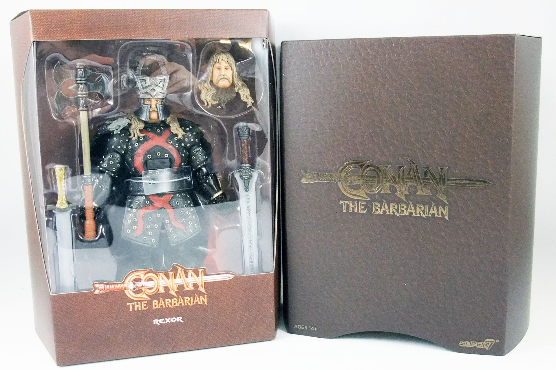 Conan le Barbare (1982 Movie) - Super7 - Rexor - Figurine Ultimate deluxe 17cm