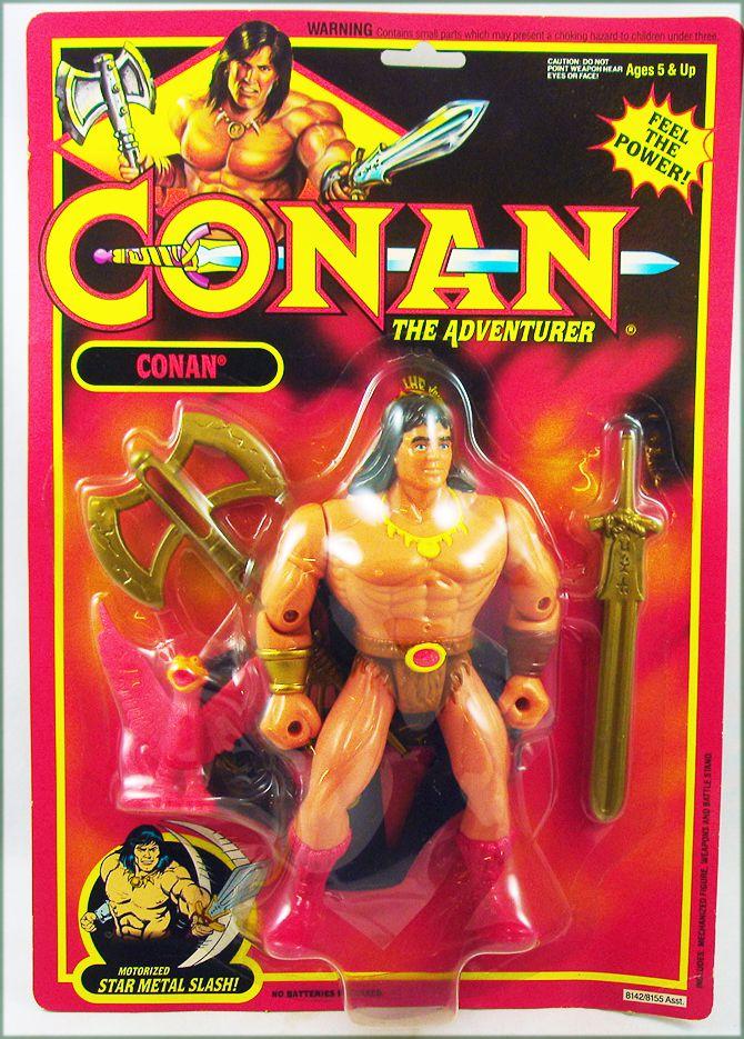 Conan The Adventurer - Hasbro - Conan The Adventurer (mint on USA card)