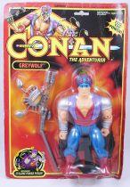 Conan The Adventurer - Hasbro - Greywolf (mint on USA card)