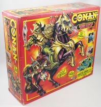Conan The Adventurer - Hasbro - Wrath-Amon & Demon Hunter Battle Stallion (Mint in box)