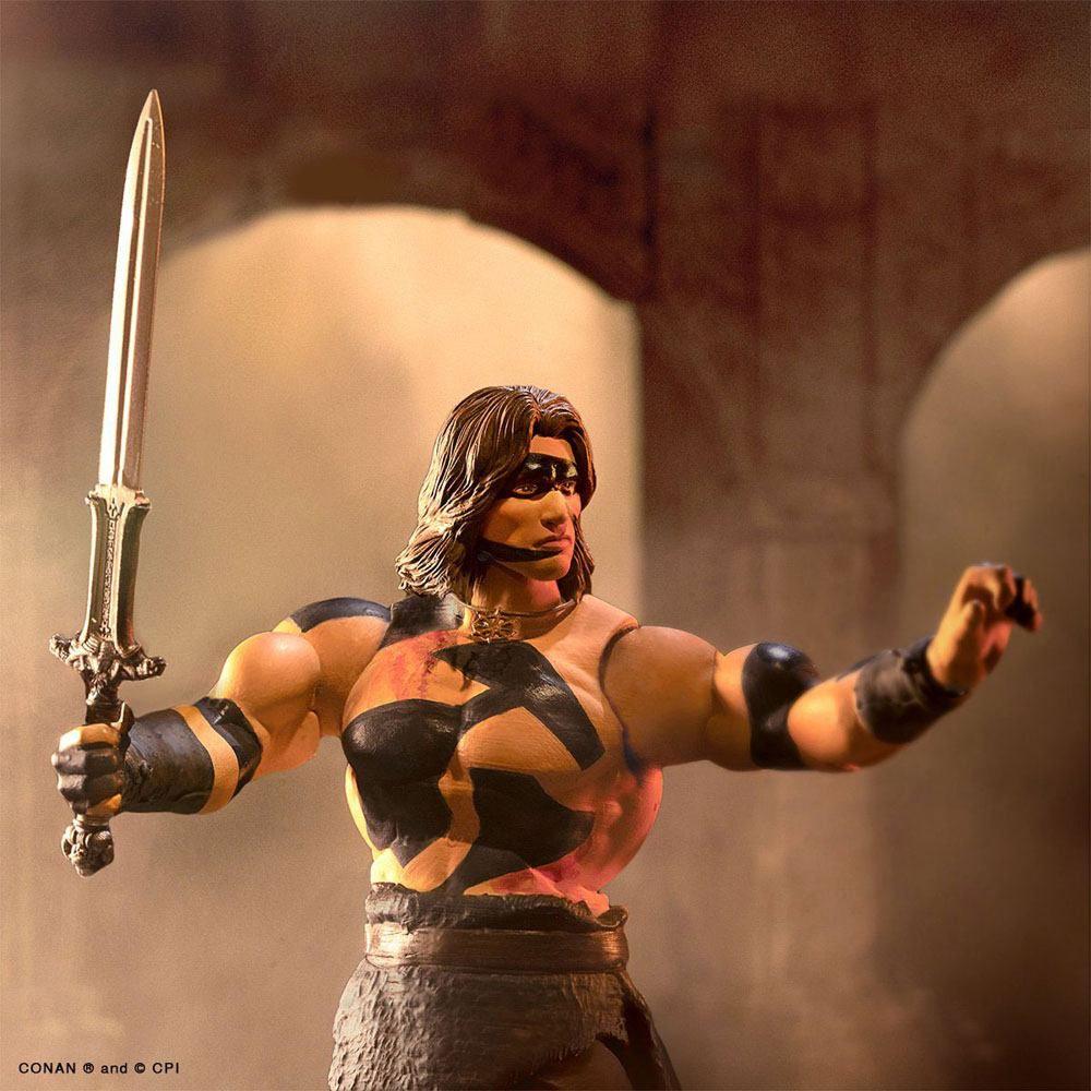 "Conan the Barbarian (1982 Movie) - Super7 - War Paint Conan - Classics 7\"" Ultimate figure"