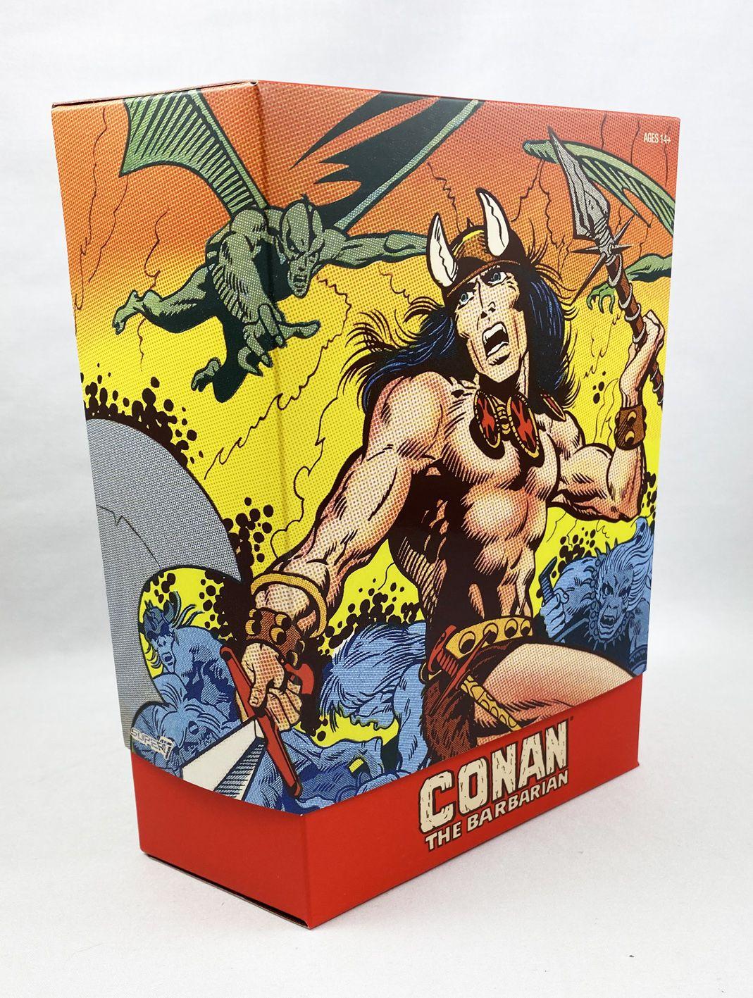"""Conan the Barbarian (Comic) - Super7 - Conan Classics 7\"""" deluxe figure"""
