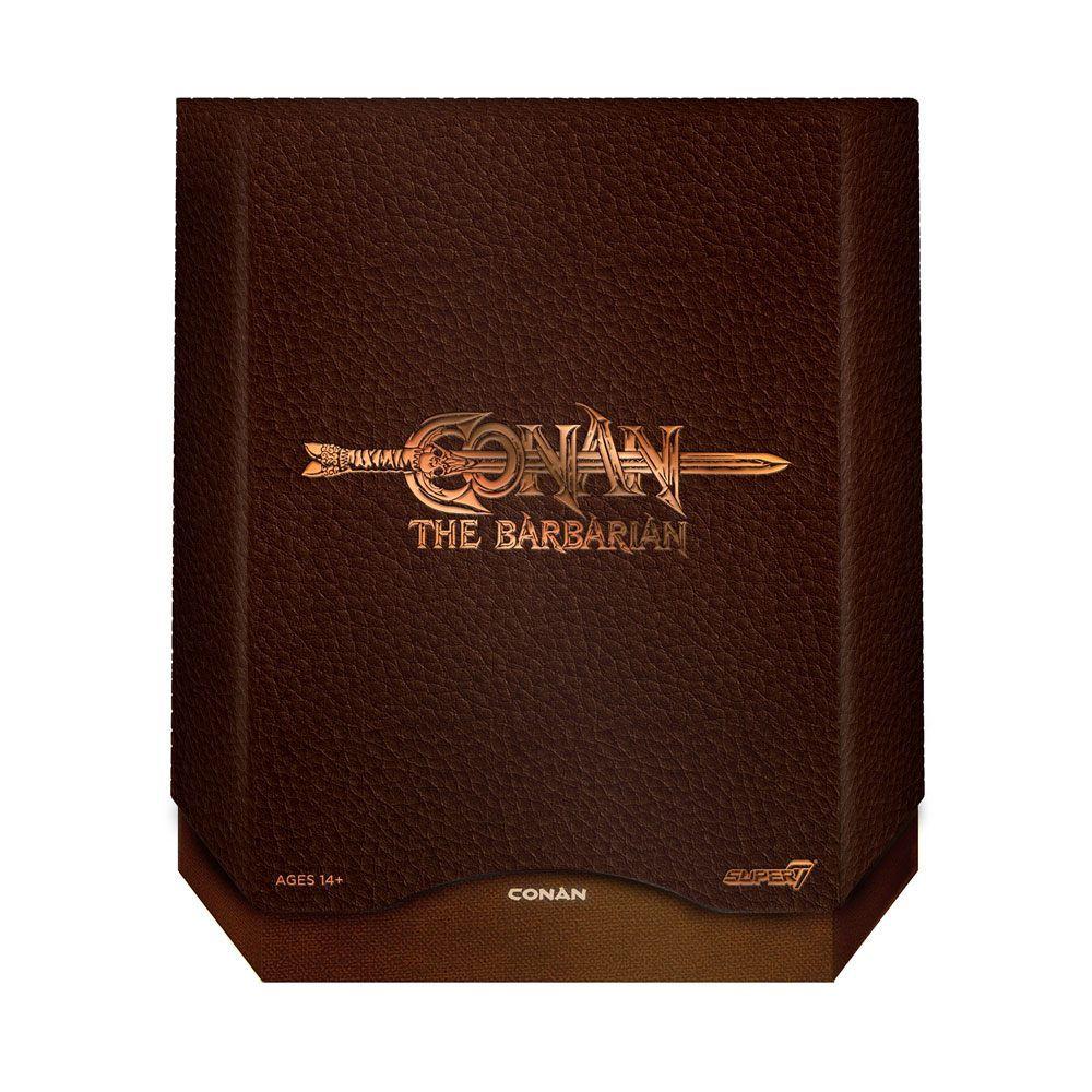 (copie) Conan le Barbare (1982 Movie) - Super7 - War Paint Conan - Figurine Ultimate deluxe 17cm