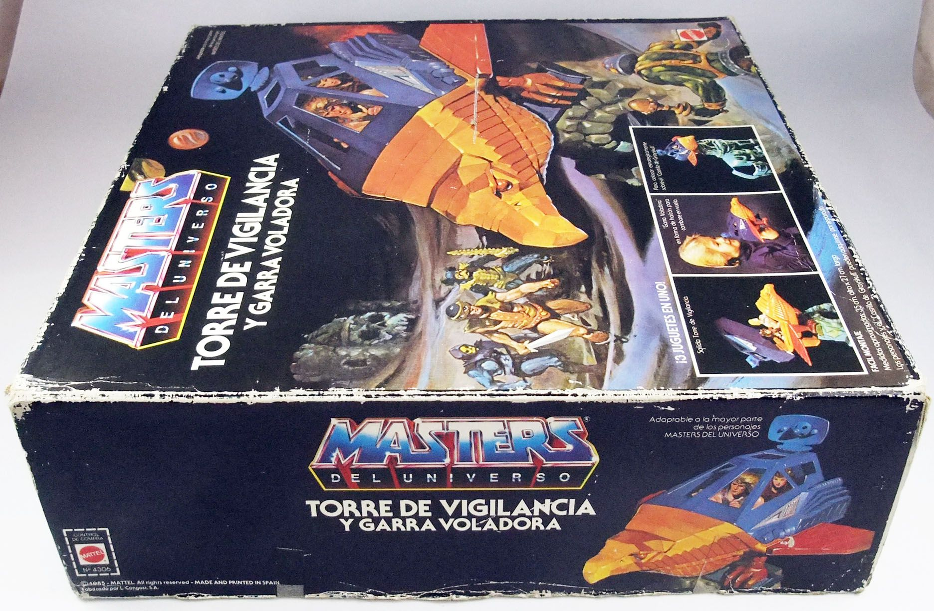 (copie) Masters of the Universe - Point Dread & Talon Fighter / Fortin & Faucon de Combat (boite Europe)