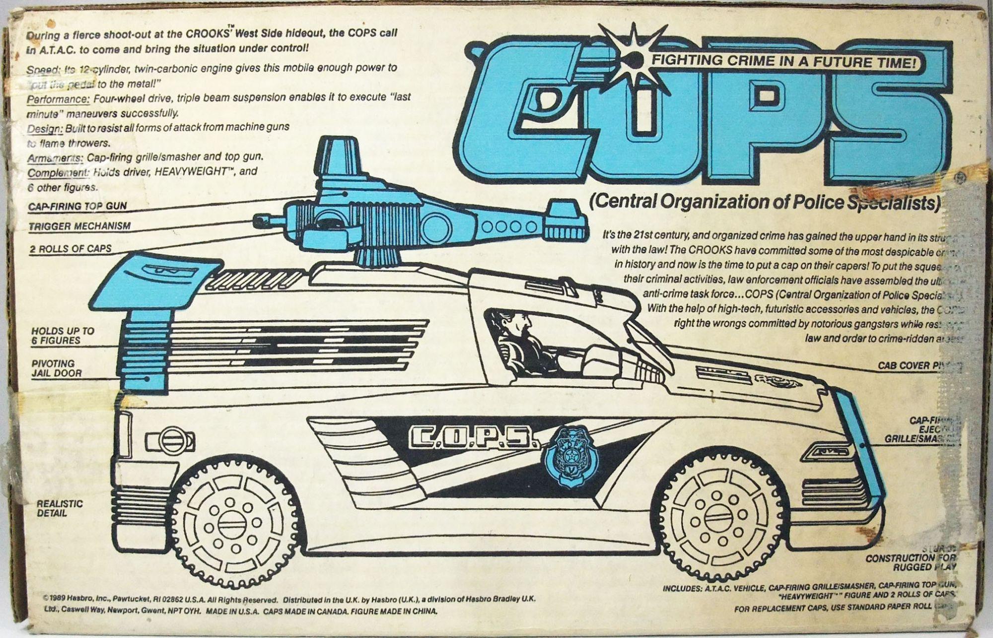 C.O.P.S. & Crooks - A.T.A.C. Armored Tactical Assault Car