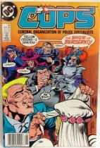 C.O.P.S. & Crooks - Comic Book - DC Comics - COPS #12