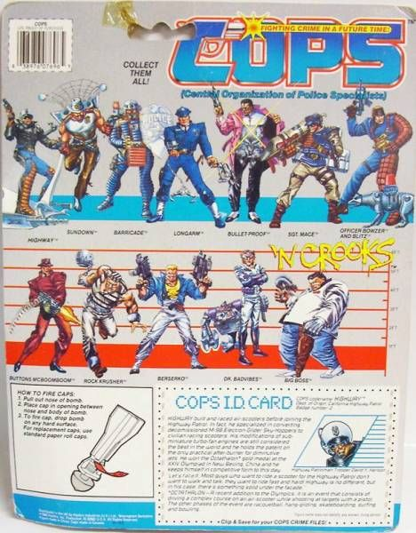 C.O.P.S. & Crooks - Highway (USA card)