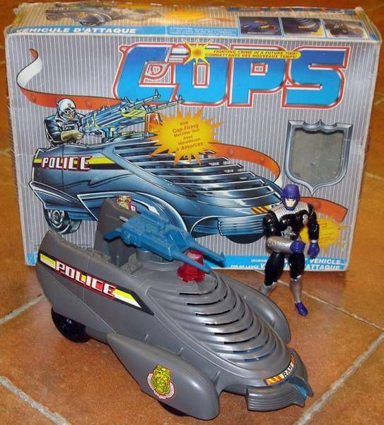 C.O.P.S. & Crooks - Ironsides Armored Car (loose with box)
