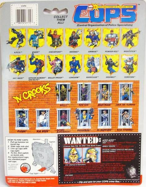 C.O.P.S. & Crooks - Koo Koo (USA card)