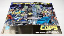 COPS - Poster/Flyer Lancement DC Comics (1988)