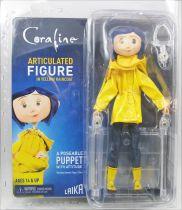 Coraline - Coraline en ciré et bottes - Figurine articulée 17cm - NECA
