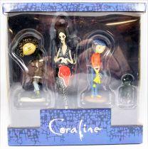 Coraline - Série de 4 figurines PVC - NECA