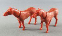 Corgi Toys 102 1104 1105 1112 - 2 Horses Ponis for Trailer