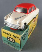 Corgi Toys 203 - Vauxhall Velox Saloon 2 Tons Neuf Boite 1/43