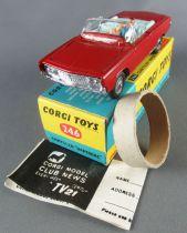 Corgi Toys 246 - Chrysler Imperial Complète Proche Neuf Boite 1/43
