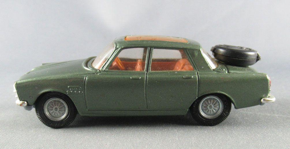 Corgi Toys 275 - Rover 2000 TC Roues Golden Jacks 1/43