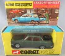 Corgi Toys 275 - Rover 2000 TC Verte Roues Golden Jacks Neuve Boite 1