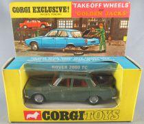 Corgi Toys 275 - Rover 2000 TC Verte Roues Golden Jacks Neuve Boite 3