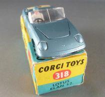 Corgi Toys 318 Lotus Elan S2 with Box