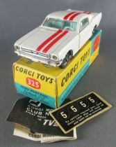 Corgi Toys 325 - Ford Mustang Fastback 2+2 Competition Model Near Mint in Box 1:43