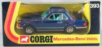 Corgi Toys 393 - Mercedes- Benz 350 Coupé Bleu Neuf 1/143 Boite