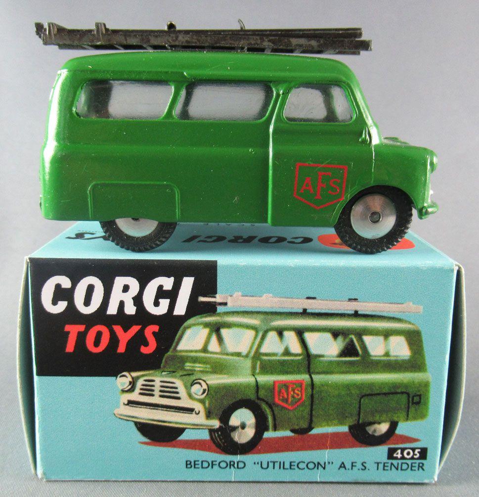 "Corgi Toys 405 - Bedford \""Utilecon\"" AFS Tender Proche Neuf Boite Repro"