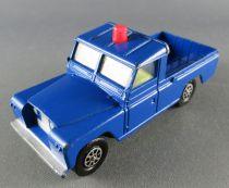Corgi Toys 438 - Land Rover 109 WB Blue with Flashing-Light