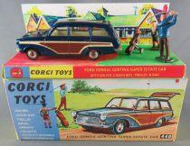 Corgi Toys 440 - Ford Consul Cortina Golf Diorama Proche Neuf Boite Repro