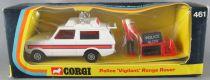 Corgi Toys 461 - Range Rover Police Vigilant Neuf Boite 1/43