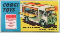 Corgi Toys 471 -  Boite Repro Food Truck Smith\'s-Karrier Mobilee Canteen