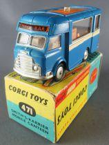 Corgi Toys 471 - Food Truck Smith\'s-Karrier Mobilee Canteen Neuf Boite 1/43