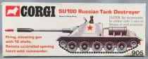 Corgi Toys 905 - Russian SU-100 Medium Tank Destroyer Tank Mint in Box