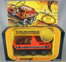 Corgi Toys D2023 - X-Ploratrons D2024 - X-Ploratrons X2 Lasertron Mint in Box 2