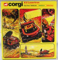 Corgi Toys D2024 - X-Ploratrons X2 Lasertron Neuf Boite