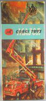 Corgi Toys Major 1127- Camion Pompier Simon Snorkel Proche Neuf Boite