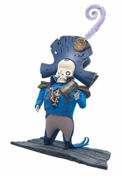 Corpse Bride - McFarlane Toys - Dwarf General Bonesapart (series 1)