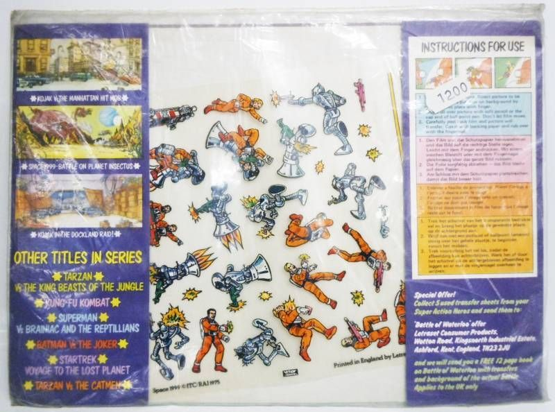 Cosmos 1999 - Letraset - Space 1999 : Terror of the Planet Cyborg (Action Tranfers)