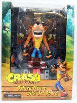 Crash Bandicoot - NECA - Crash with Jet Board - Figurine Deluxe 17cm
