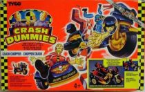 Crash Dummies (Crash-Robots) - Tyco - Crash Chopper (loose with box)