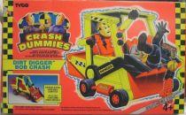 Crash Dummies (Crash-Robots) - Tyco - Crash Dummies - Dirt Digger (loose with box)